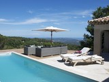 Beautiful Private Villa with Panoramic Views and Lap Pool, 25 Min from Cannes