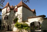 Chateau du Trichot : 9 Bedrooms with Private Heated Pool and Floodlit Tennis Court