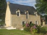 Renovated farmhouse in rural Brittany close to Josselin