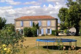 Accommodation for 14 to 16 people across two properties, Nr Cognac, in the Charente Maritime
